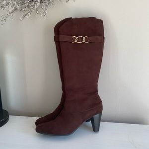 Jessica Simpson Brown Suede Boots